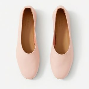 Everlane | Pink Leather Day Glove Loafers